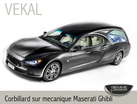 Corbillard sur mecanique Maserati