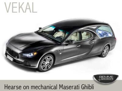 hearse on mechanical Maserati Ghibli
