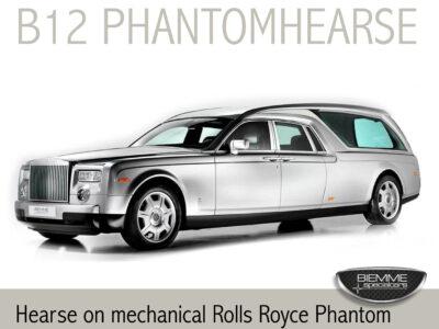 hearse on mechanical Rolls Royce