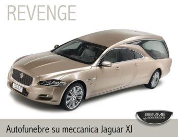 corbillard sur la mécanique Jaguar XJ