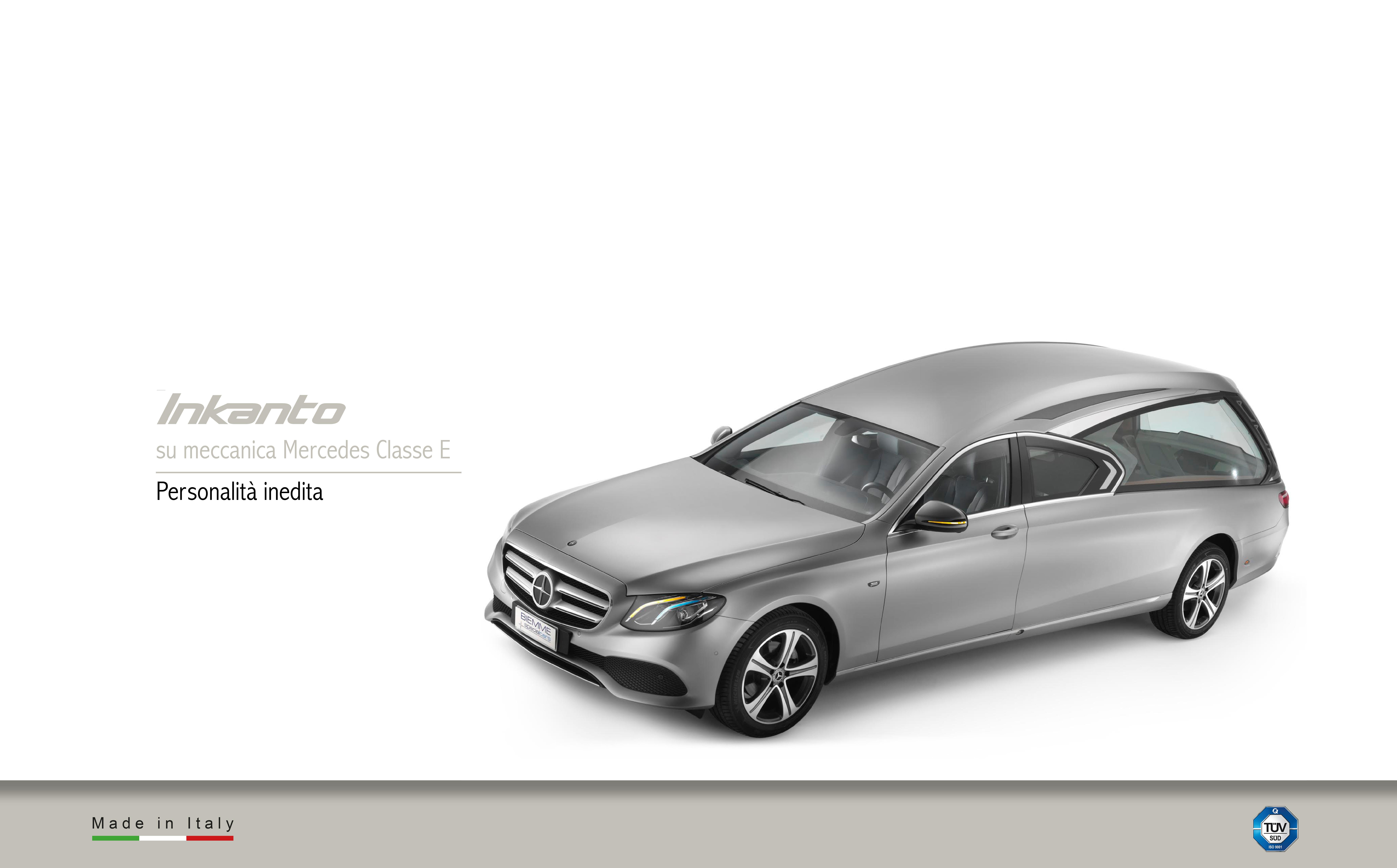 Inkanto corbillard meccanical Mercedes Benz Classe E