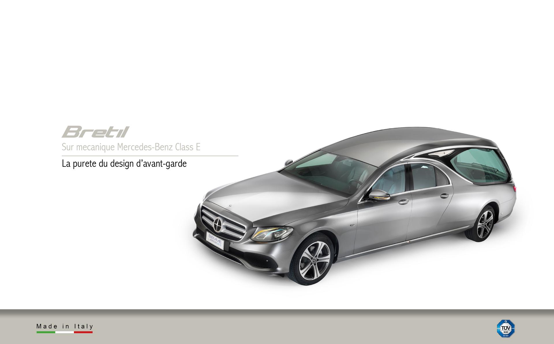 Corbillard sur mecanique Mercedes-Benz E Class
