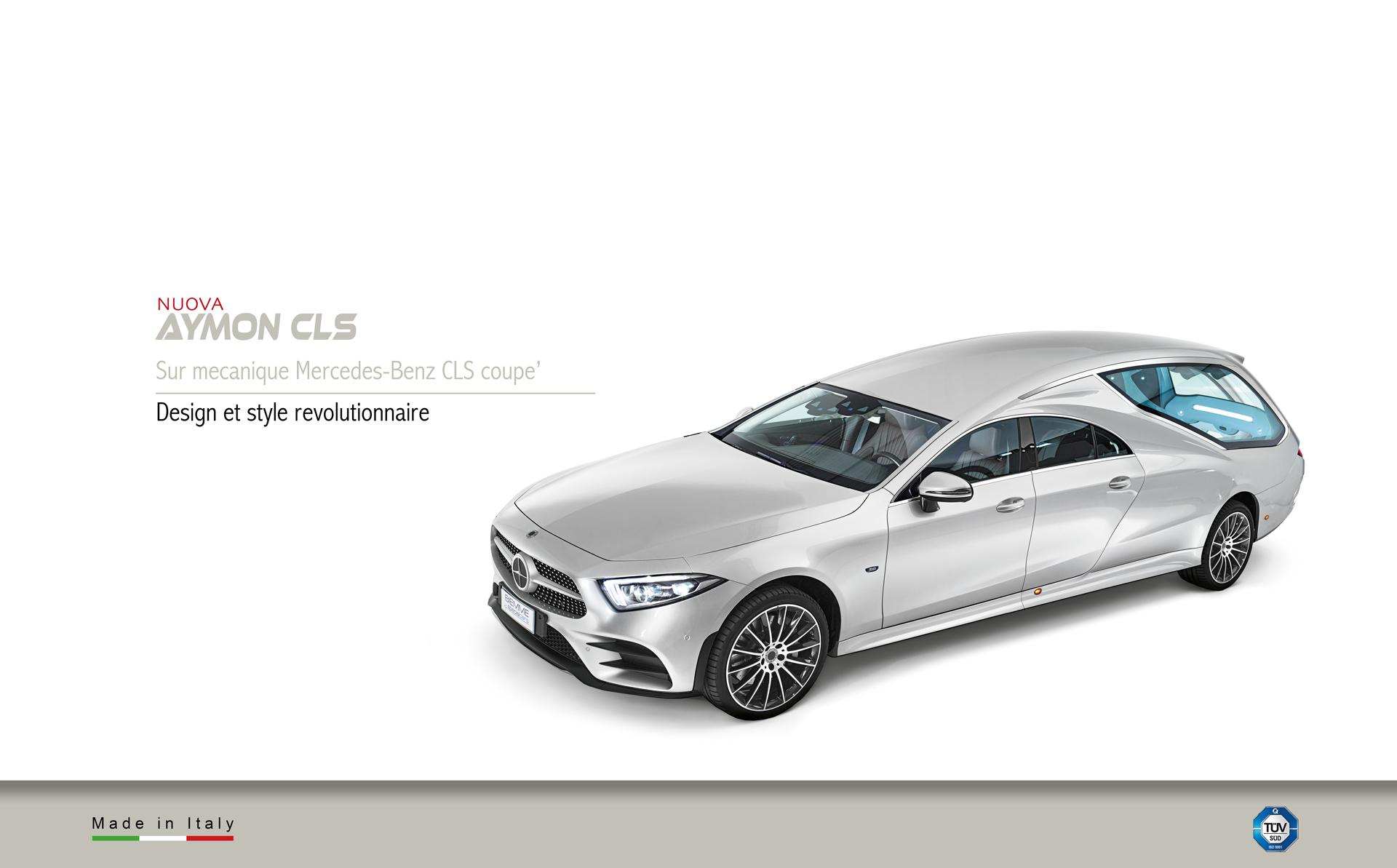 Corbillard sur mecanique Mercedes-Benz Cls Coupè