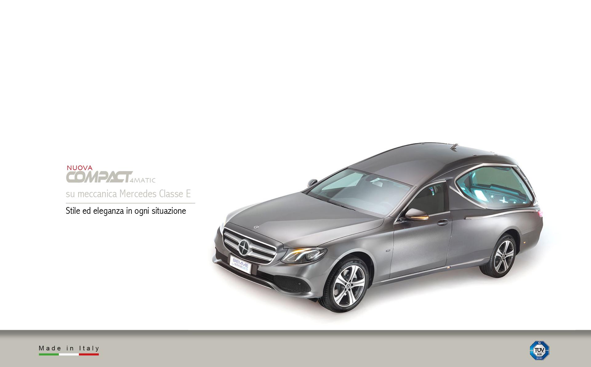 Hearse Compact meccanical Mercedes Benz Classe E