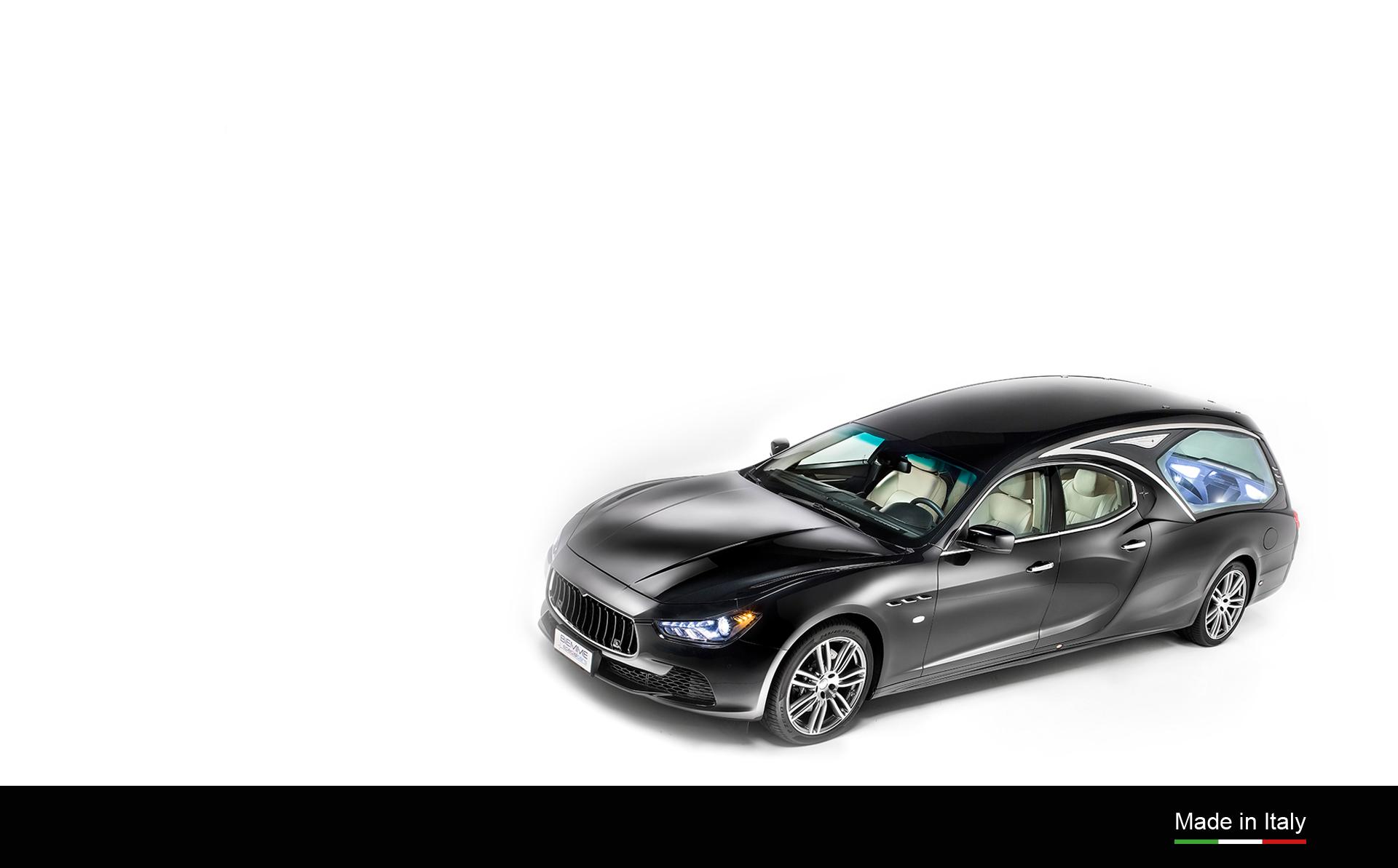 autofunebre Vekal su meccanica Maserati