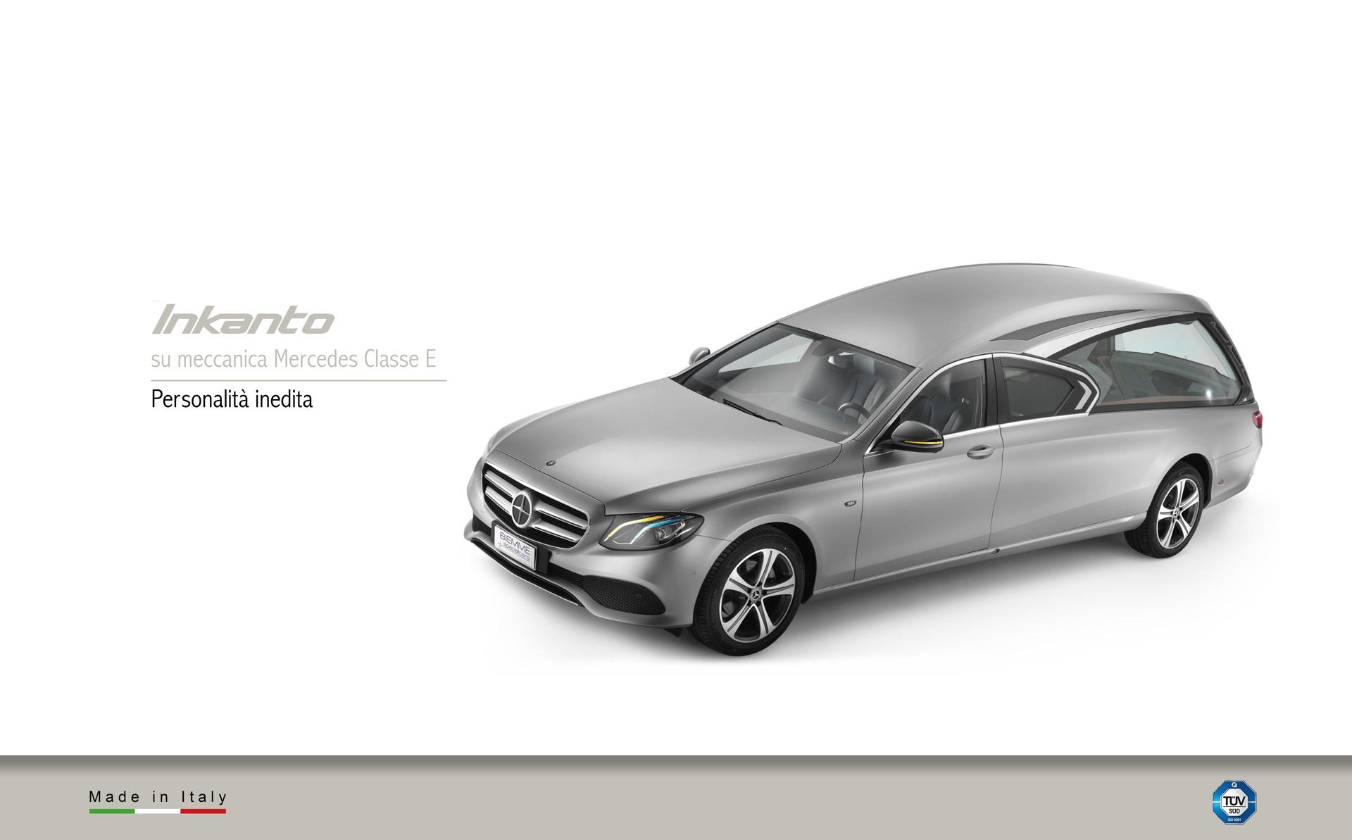 Hearse inkanto meccanical Mercedes Benz Classe E