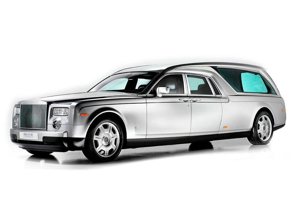 corbillards mécaniques Rolls Royce
