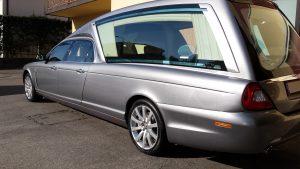 hearse of mechanical Jaguar