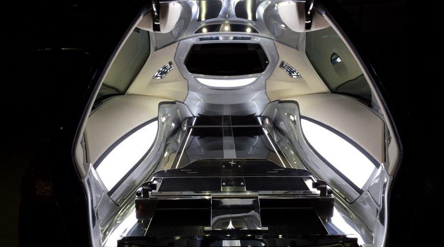 Corbillard Vekal de Maserati Ghibli mécanique
