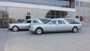 hearse of mechanical Rolls Royce