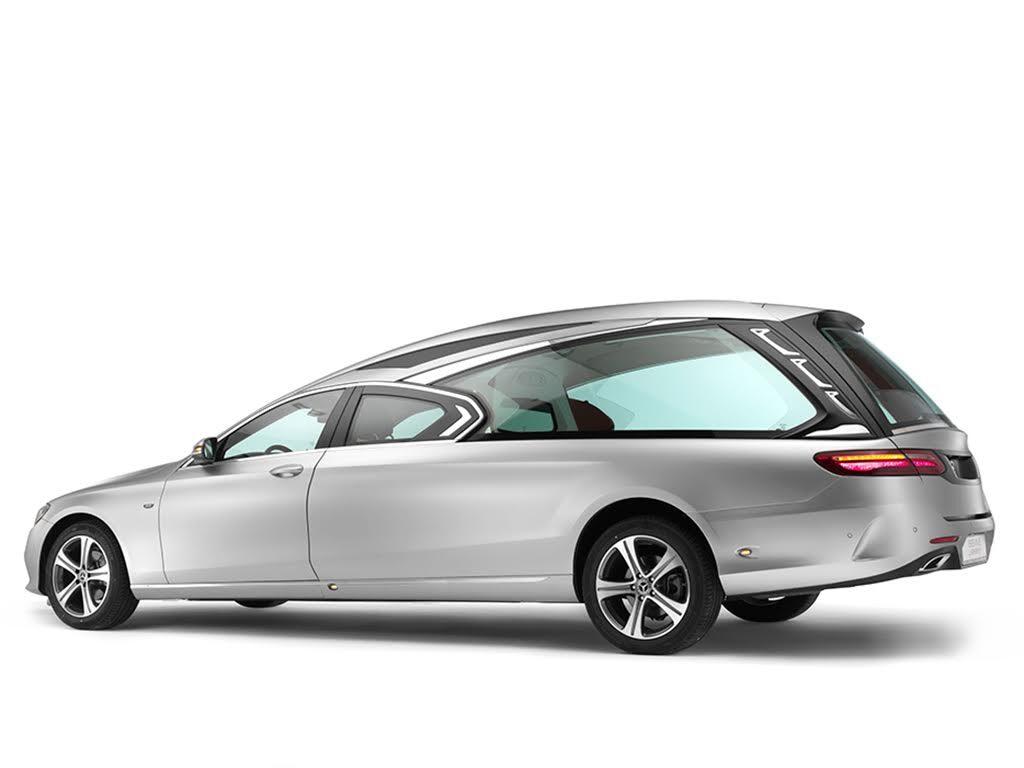 Inkanto hearse based on Mercedes Benz E class